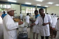 Lab Sc. Students during Practical session